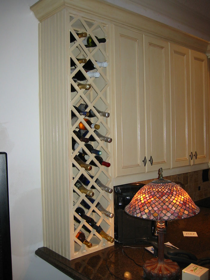 built in wine rack in kitchen cabinets 1000 images about wine racks on wine racks 12676