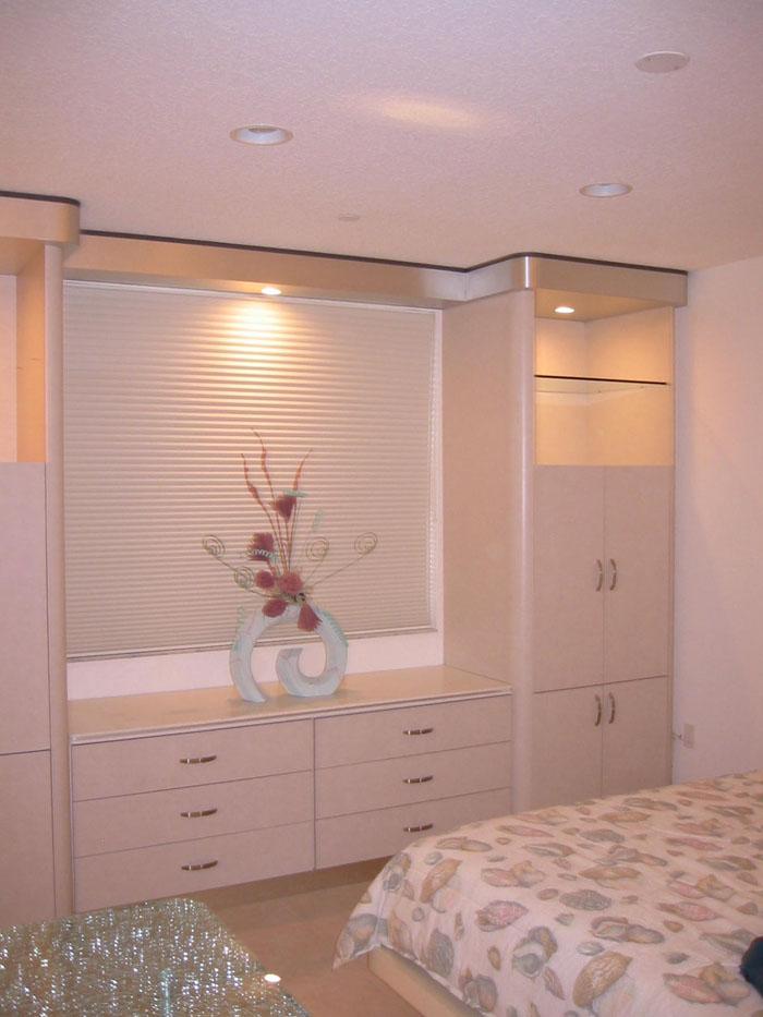 Cabinet construction design restoration services for Master bedroom cupboards